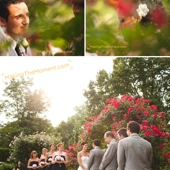 Cleveland Botanical Gardens Wedding Photography