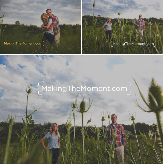 Creative Cleveland Engagement Session Photography