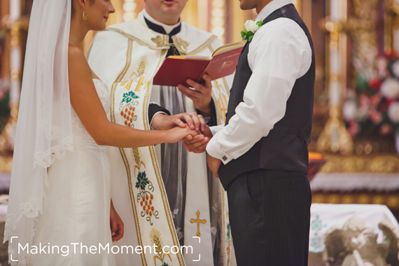 Cleveland St. John Cantius Wedding Photographer