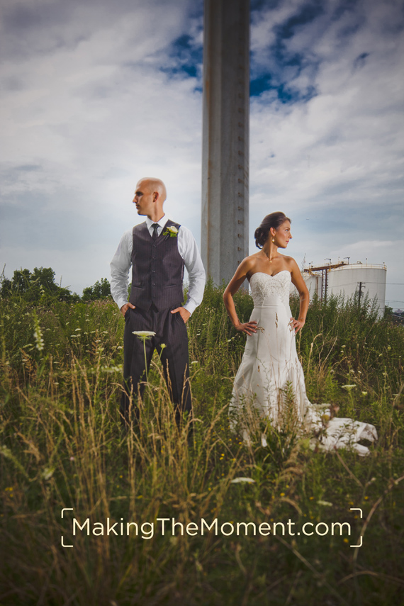 Cleveland Wedding Photographer Modern