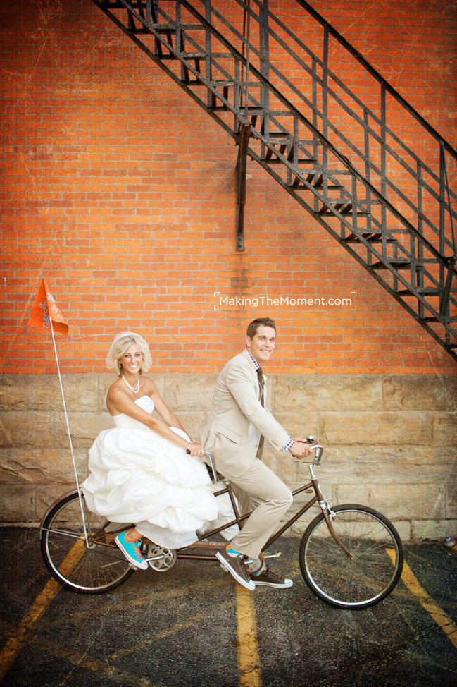 Fun Cleveland Wedding Photographer