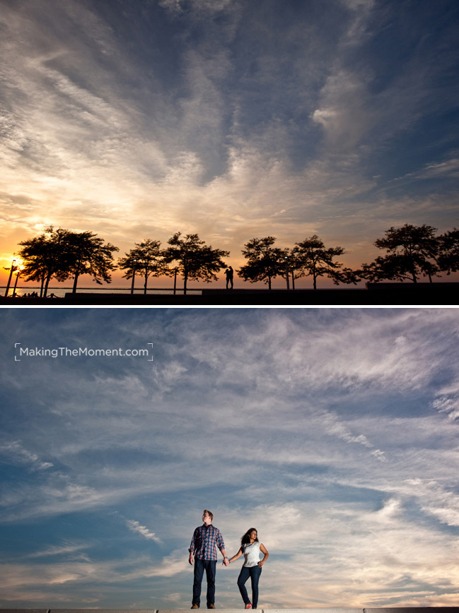 Indian Wedding Engagement Session Photographer in Cleveland