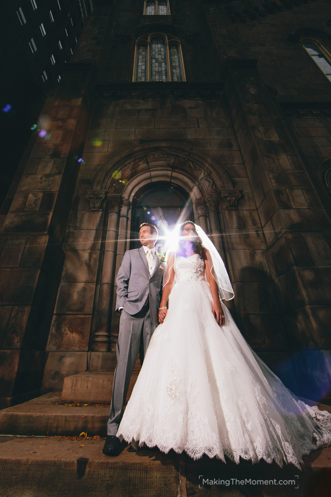 Wedding at Old Stone Church Cleveland