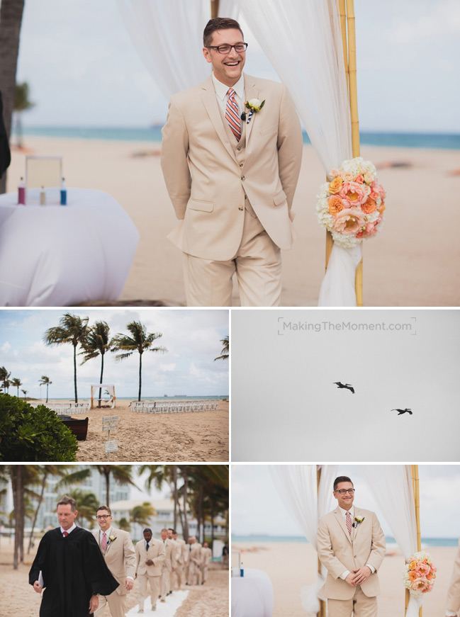 Beach Wedding Photographer in Cleveland