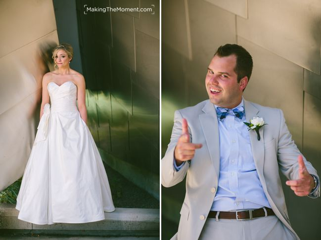 Artistic Wedding photographers in Cleveland