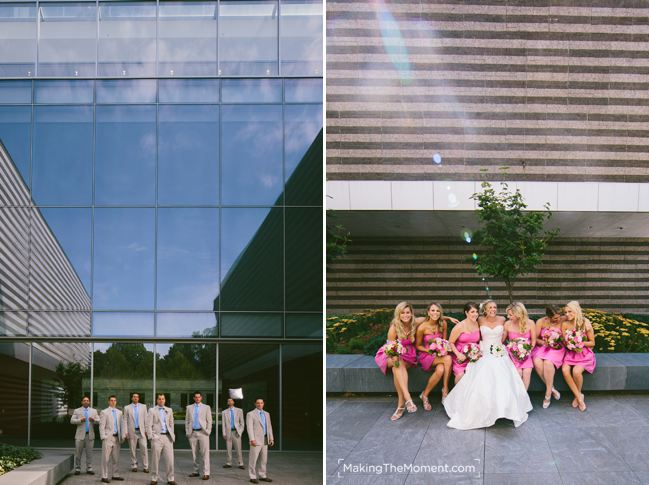 Artistic Wedding photographers in Clevelan