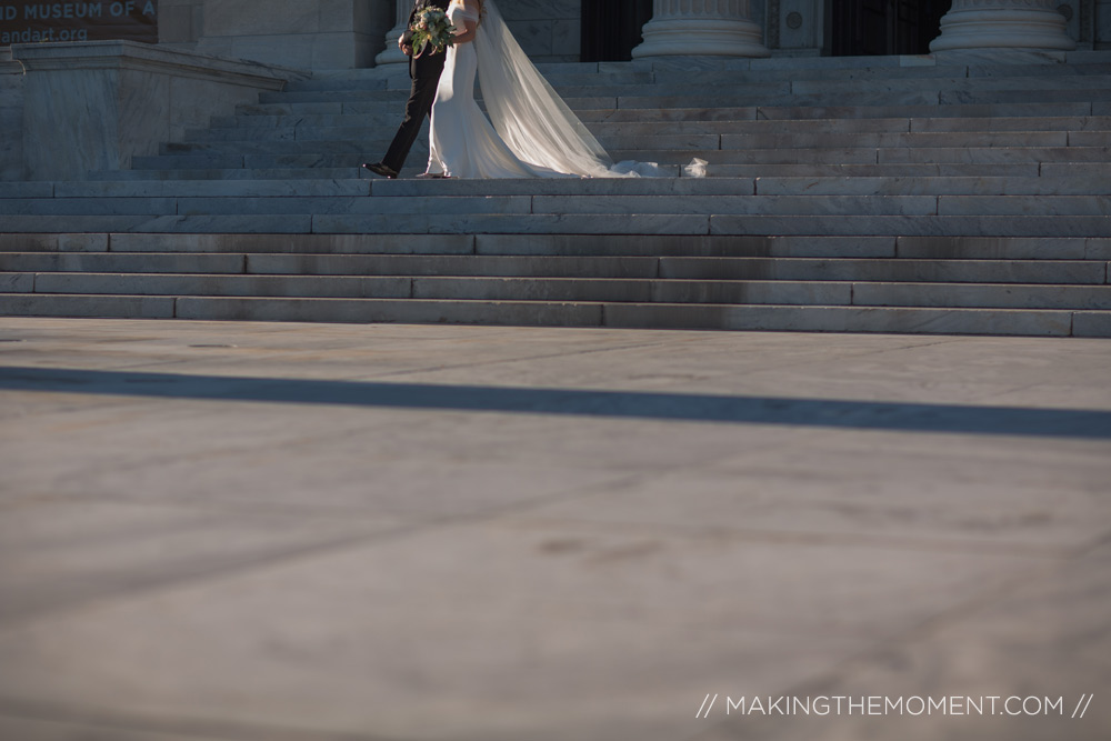 Wedding at Cleveland Art Museum