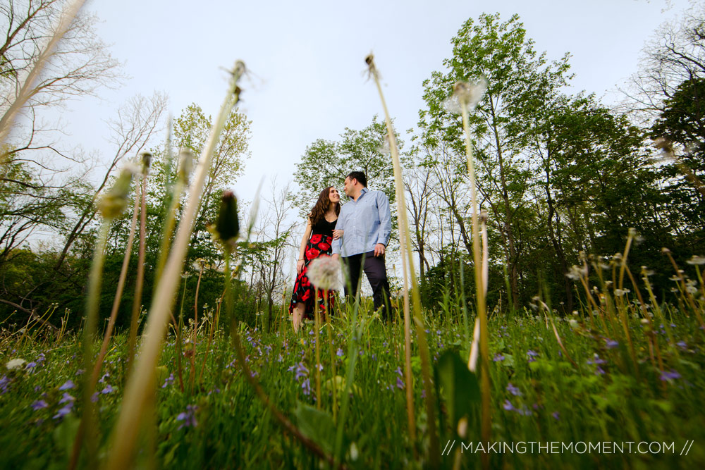 Unique Engagement Photography ClevelandArtistic Engagement Sess