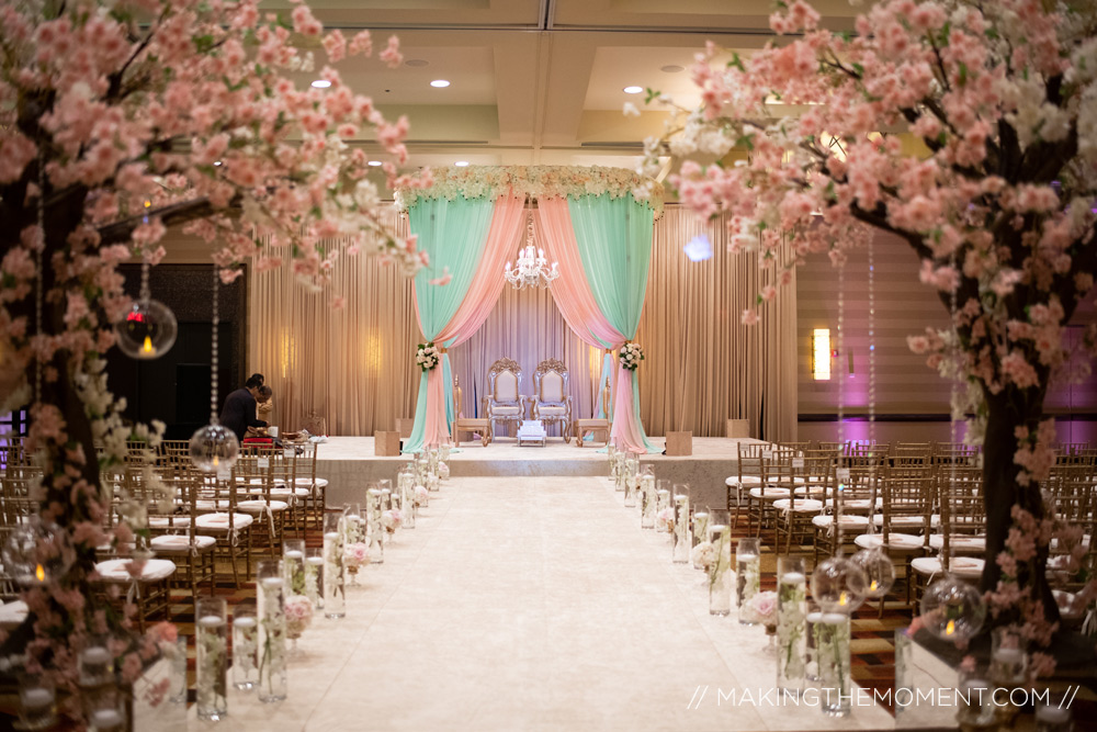 Hyatt Louisville indian wedding ceremony mandap