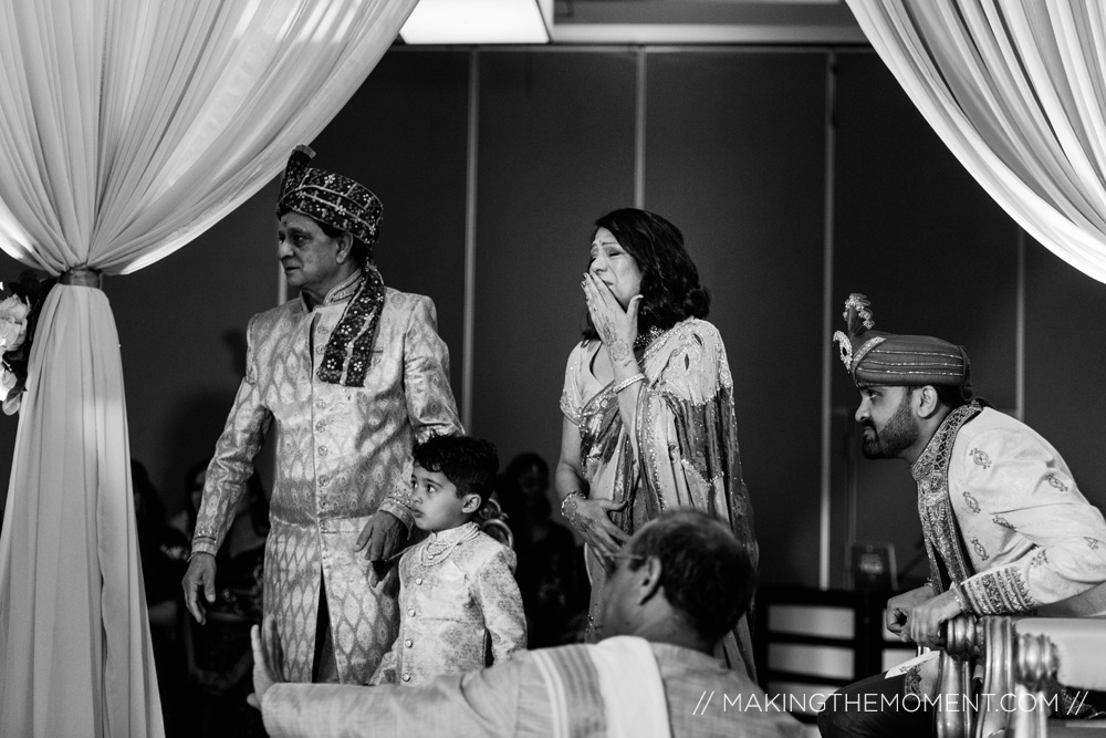 emotional indian wedding ceremony Hyatt Louisville