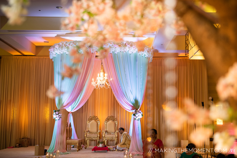 Indian Wedding Ceremony Mandap Hyatt Louisville