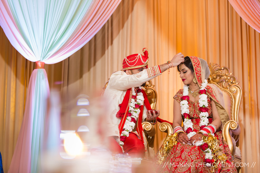 indian wedding ceremony Hyatt Louisville