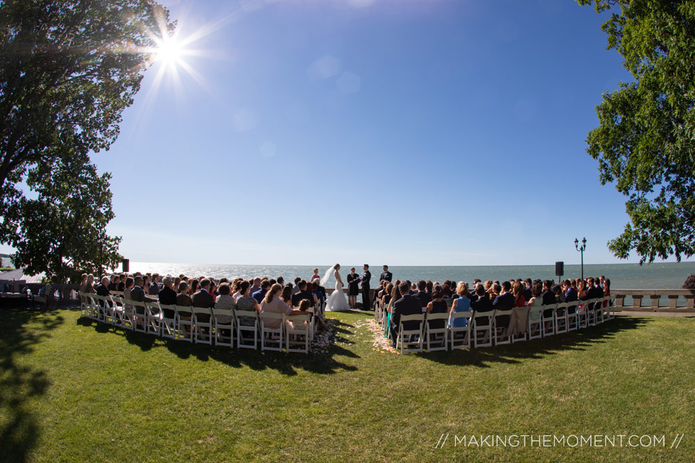 Shoreby Club Wedding Ceremony