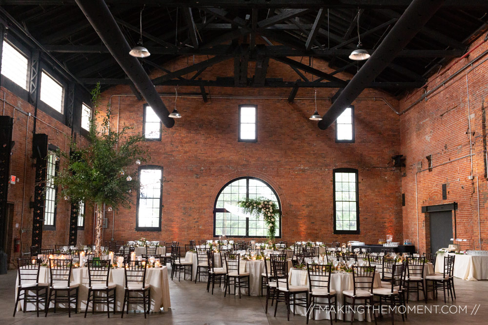 Tenk Cleveland Wedding Reception