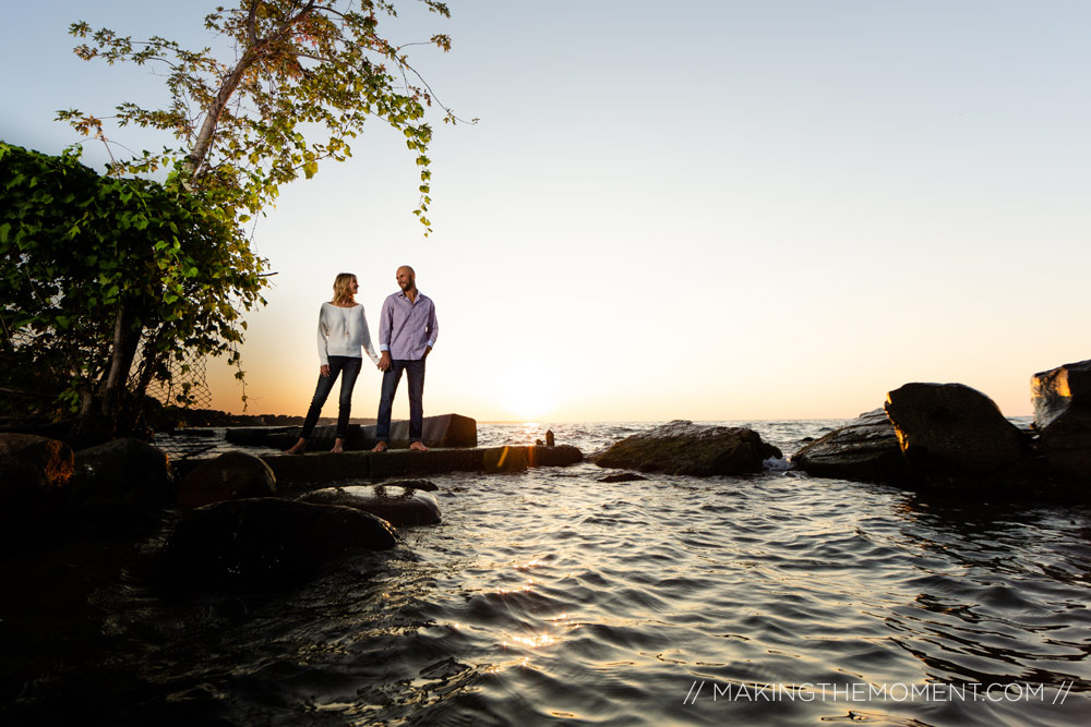 Lake Erie Engagement Session Photography Cleveland