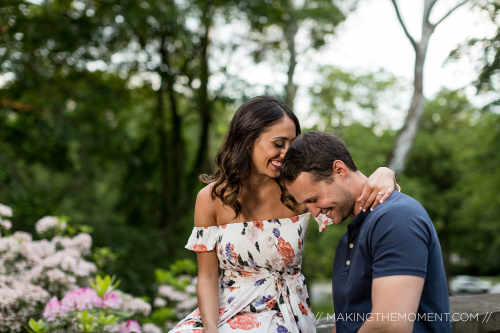 nature engagement session cleveland