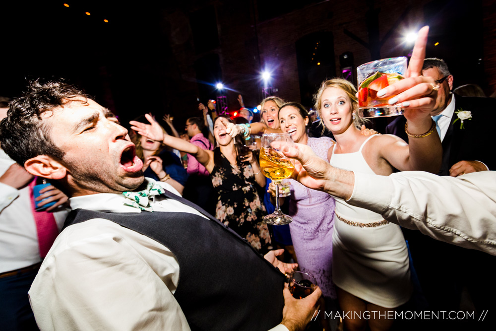 Wedding Receptoin Photography in Cleveland