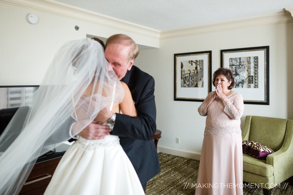 Cleveland Wedding Photography First Look