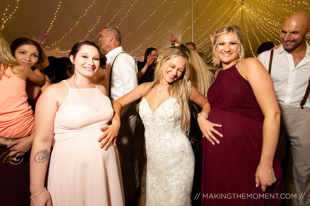 Wedding Reception Photography in Cleveland