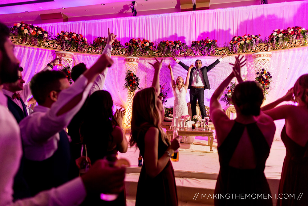 Wedding Reception Photography in Cleveland LaCentre