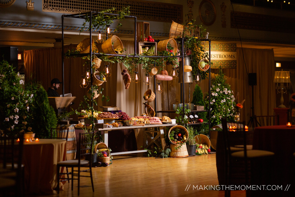 driftwood catering wedding reception