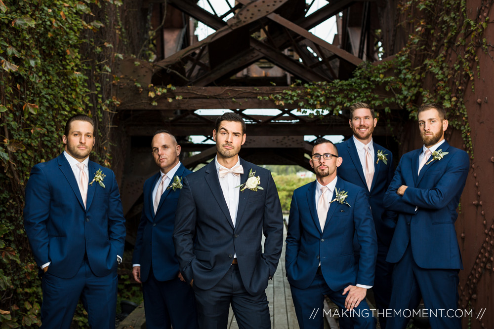 Groomsmen Wedding Photographer Cleveland