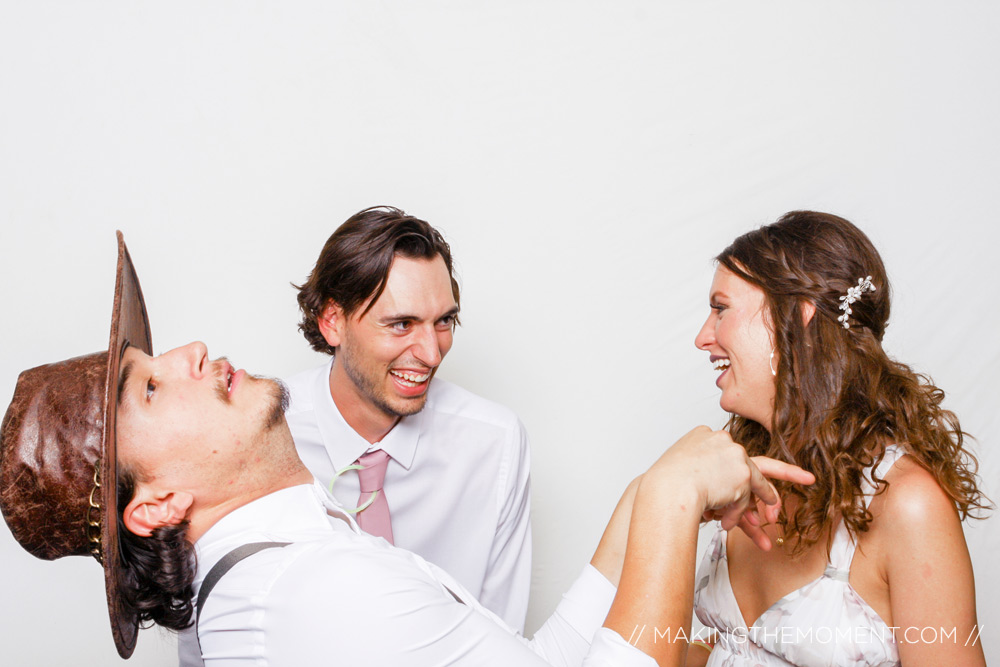 Funny Wedding Reception Photography Cleveland
