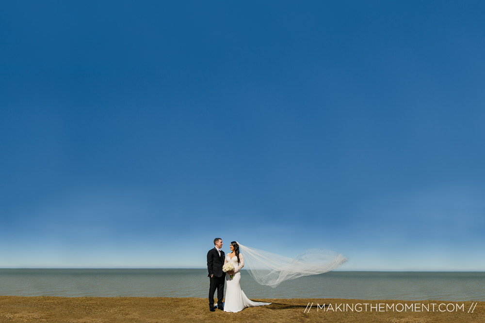 Cleveland Wedding Photography Lake Erie