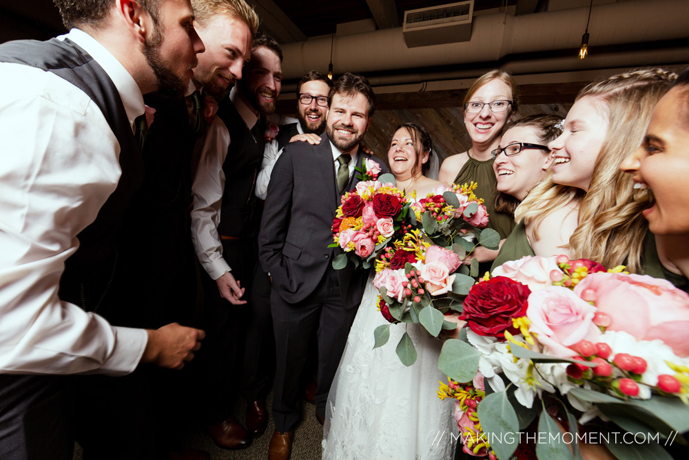 Wedding Party Photography Cleveland
