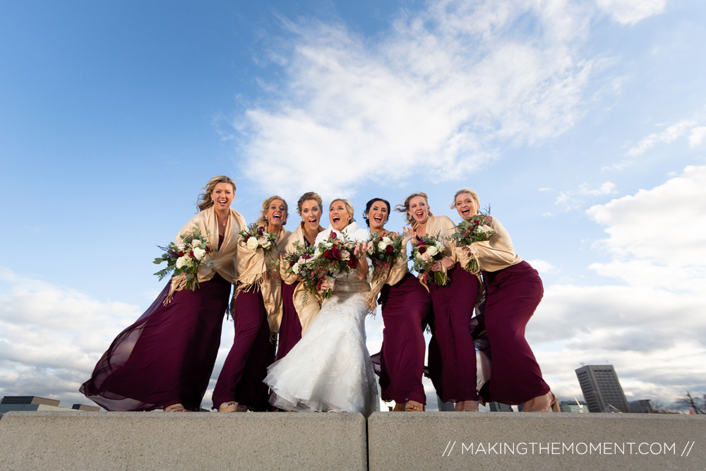 Bridesmaid Wedding Photogaphy Cleveland