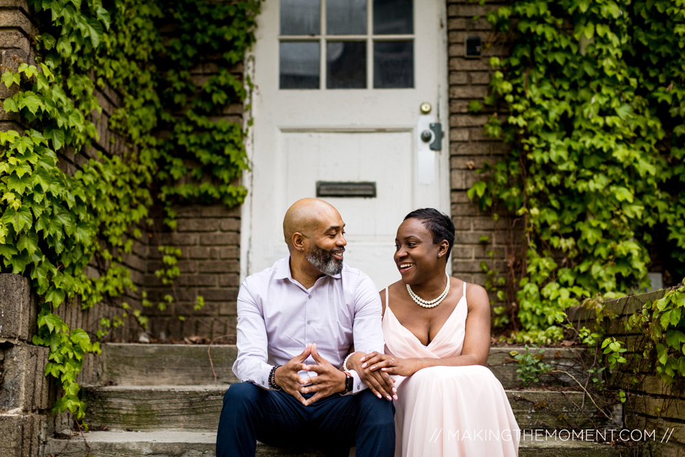 Cute Engagement Photography Cleveland