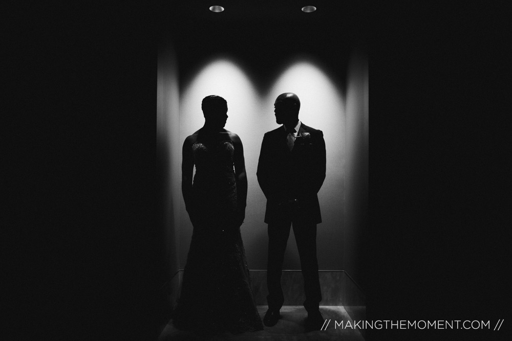 Dramatic Cleveland Wedding Photographer