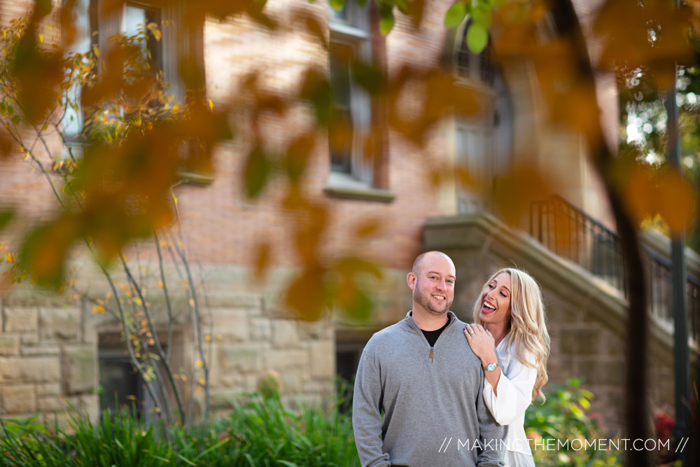 Fall Engagement Photography Cleveland
