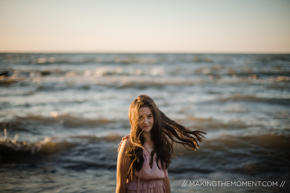 Cleveland Photography Senior Session Lake Erie