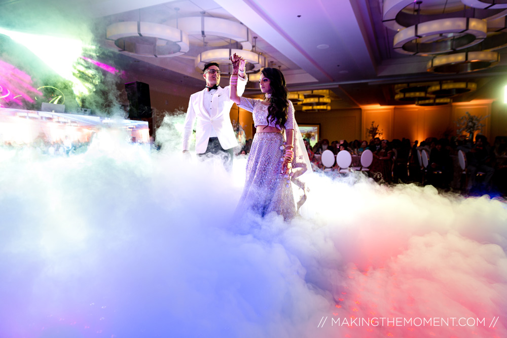 dance on clouds wedding reception
